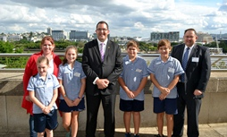 Student Leaders Parliament House Visit