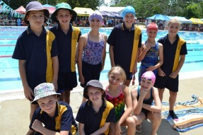 District Swimming Trials Success